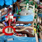 The Perfect Wooden Train Play Rug Play Trains