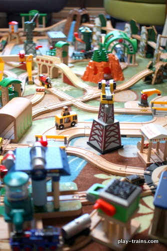 Engine Room Layout: Our Latest Wooden Train Layout