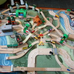 Our Latest Wooden Train Layout