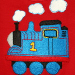 Thomas the Tank Engine Shirt for a Birthday Boy