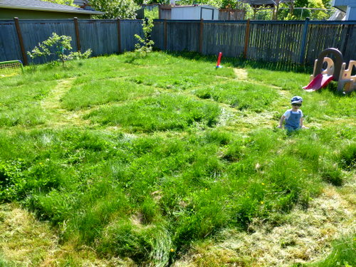 Grass Tracks - an Outdoor, Active, and Imaginative Train Game