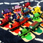 Engine Paint Shop — Train Color Matching Activity for Preschoolers