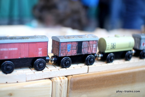 wTrak Modular Train Tables at the 2013 Pacific Science Center 39th Annual Model Railroad Show