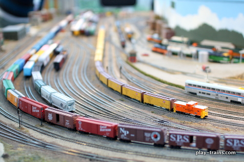 2013 Pacific Science Center's 39th Annual Model Railroad Show
