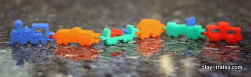Exploring the Possibilities of an Instant Foam Railroad