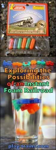 Exploring the Possibilities of an Instant Foam Railroad @ Play Trains!