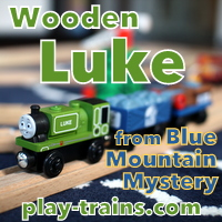 Wooden Luke from Blue Mountain Mystery @ Play Trains!