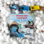 Thomas Gets a Snowplow: Wooden Train Book Activity for Kids