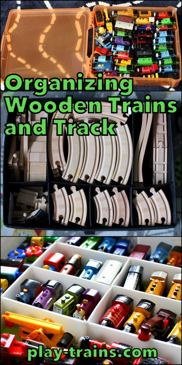 Organizing Wooden Trains And Track From Play Trains!