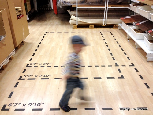 Toddler Train Track Ikea