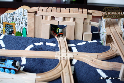 Learn my secret for tricking my Little Engineer into thinking he's getting more screen time than he really is.  And I have a few ideas for playing the story of the latest Thomas & Friends movie.  Playing Along with Blue Mountain Mystery @ Play Trains!