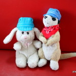 DIY Felt Engineer Hats for Stuffed Animals