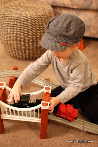 The Caboose Who Got Loose:  Review & Play @ Play Trains!