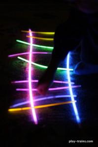 Glow Tracks @ Play Trains!