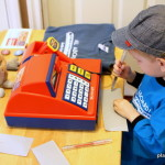 Monorail Ticket Booth Pretend Play