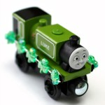 St. Patrick's Day Freight for Wooden Trains