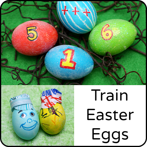 Train Engineer and Thomas & Friends Easter Eggs