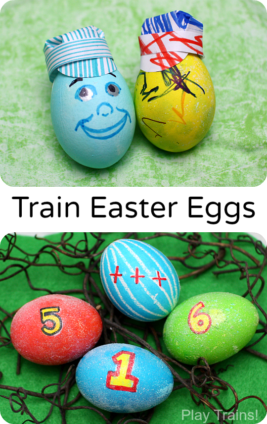Train Engineer and Thomas and Friends Easter Eggs from Play Trains!
