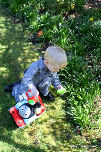 The Little Engineer's Easter Egg Hunt @ Play Trains!