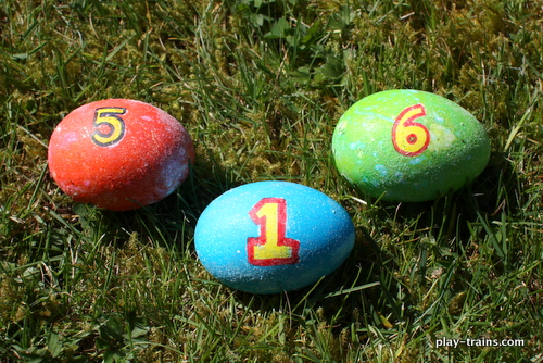 Thomas & Friends Easter Eggs @ Play Trains!