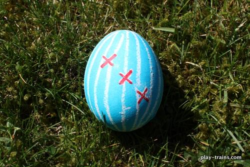 Train Engineer Easter Egg @ Play Trains!