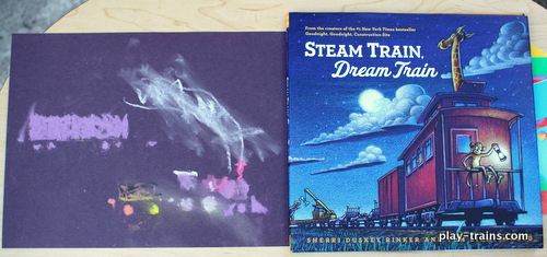 Exploring the Art of Steam Train, Dream Train with a preschooler (Part 2) @ Play Trains!