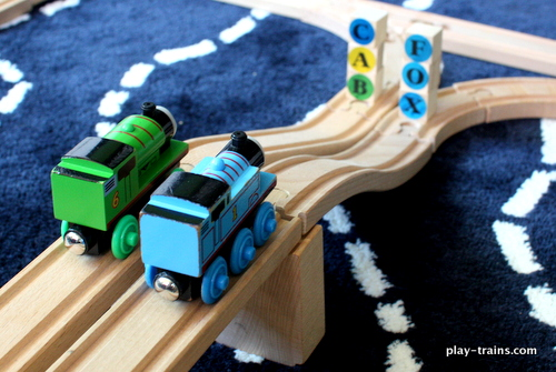 Railroad Word Crash: Train Reading Game @ Play Trains!