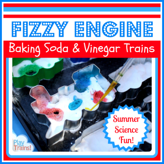 Fizzy Engine: Baking Soda and Vinegar Trains