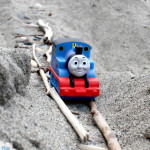 Sand Tracks: Train Beach Activity Inspired by Peter's Railway