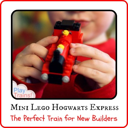 Mini Lego Hogwarts Express: the Perfect Train for New Lego Builders