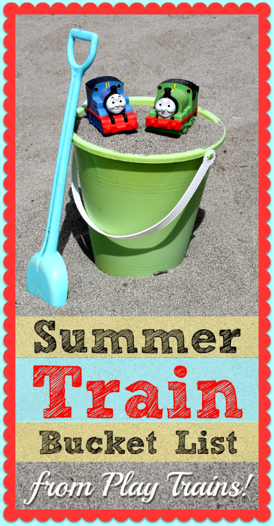 Our Summer Train Bucket List -- Play Trains! writing for Seattle's Child Weekly. No matter where you live, if your child loves trains, you'll find plenty of things to add to your summer agenda on this train-loving family's bucket list.