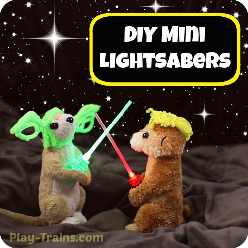 DIY Mini Lightsabers — Star Wars Kids' Craft