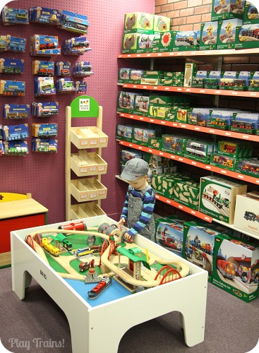 Learning Sprout Toys Join Play Trains! for a tour of our favorite toy store & Learning Sprout Toys -- Tacoma Toy Store Train Tables