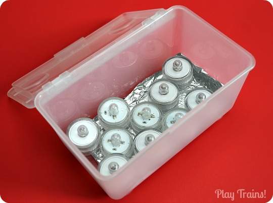 DIY Mini Light Box: Portable, Floatable, Stackable, and Waterproof Light Play from Play Trains!