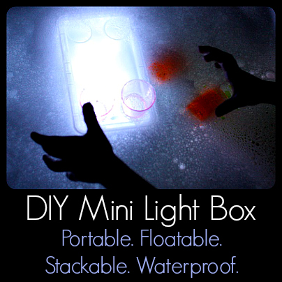 DIY Mini Light Box: Portable, Floatable, Stackable, Waterproof