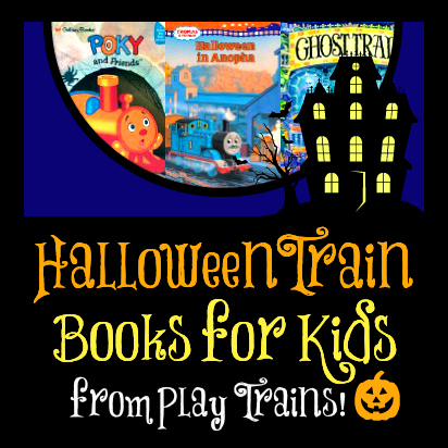 Halloween Train Books for Kids @ Play Trains! http://play-trains.com