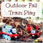 Outdoor Fall Train Play — Fall Invitations to Play