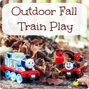 Outdoor Fall Train Play @ Play Trains! http://play-trains.com/