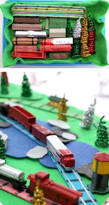 Portable Train Set Pin 1
