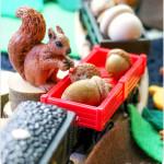 Squirrel Train Small World — Fall Invitations to Play