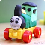 Play Dough Train Set