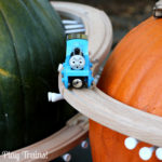 Pumpkin Mountain Railroad Building — Halloween Train Activity