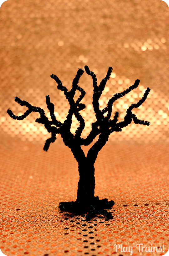 How To Make Spooky Halloween Trees