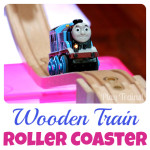 Building with Mini Light Boxes: Wooden Train Roller Coaster Tracks