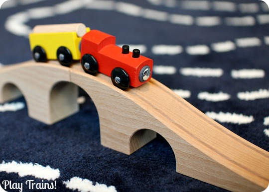 The Play Trains! Guide to Wooden Train Sets: expert advice on the best wooden train set to buy for your little engineer.