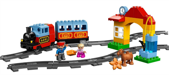 LEGO 10507 My First Train Set from Train Gifts for Preschoolers at Play Trains!