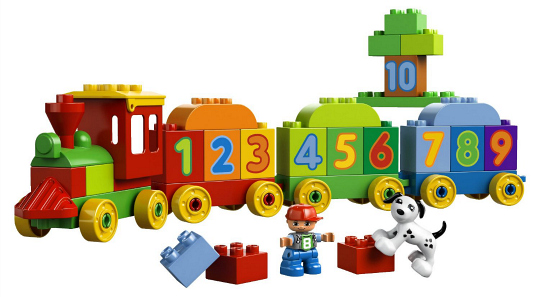 LEGO DUPLO Number Train from Train Gifts for Preschoolers at Play Trains!