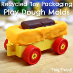 Recycled Toy Packaging Play Dough Molds
