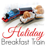 Holiday Breakfast Train Activity for Kids