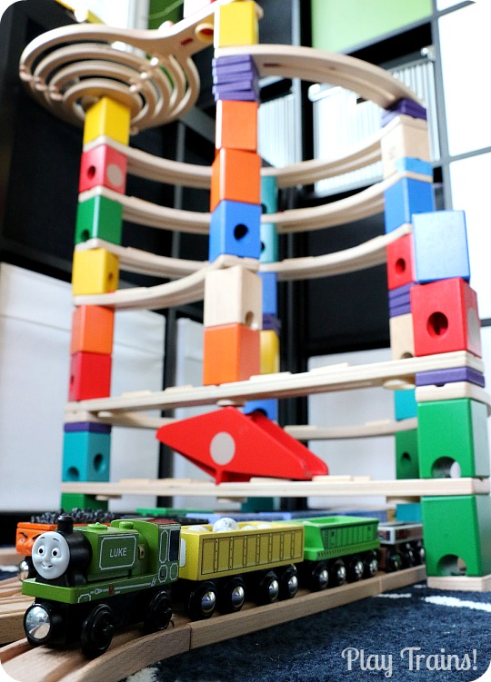 Marble Run Train Play: Quarry Cargo Drop from Play Trains!